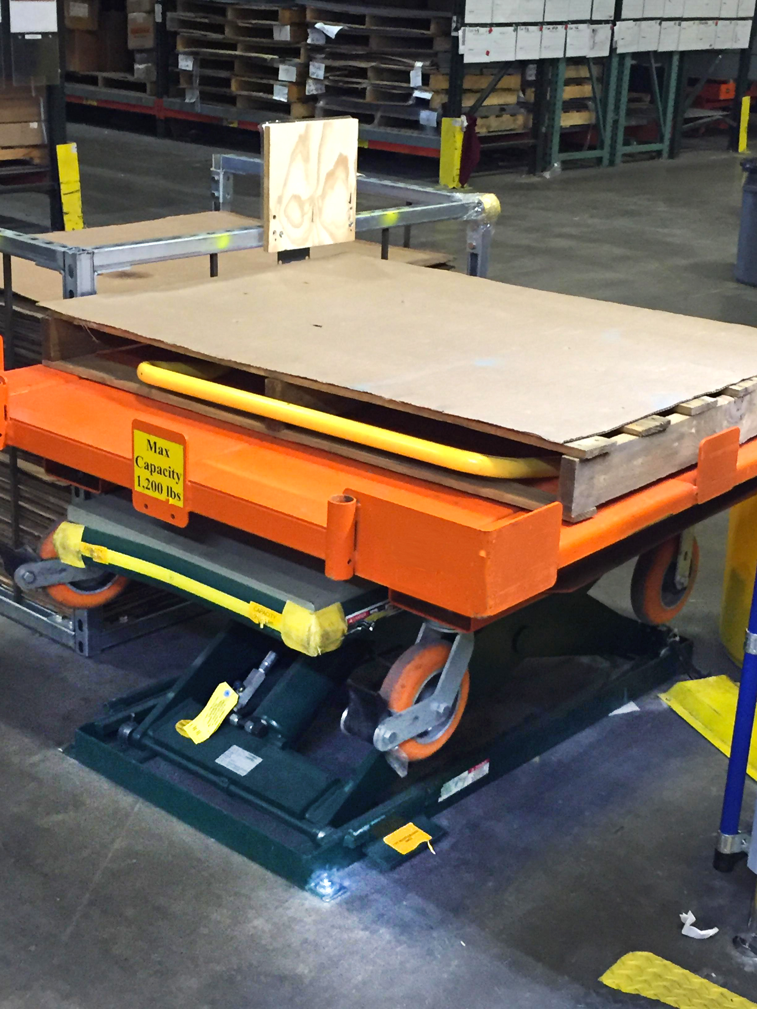 Photo Gallery Custom Lift Tables Tilters Levelers